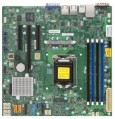 Материнская Плата SuperMicro MBD-X11SSL-F-O Soc-1151 iC232 mATX 4xDDR4 6xSATA3 SATA RAID i210AT 2xGgbEth Ret