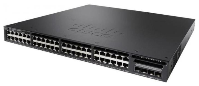WS-C3650-48TD-L Коммутатор Cisco Catalyst 3650 48 Port Data 2x10G Uplink LAN Base WS-C3650-48TD-L