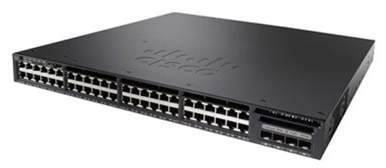 WS-C3650-48TS-L Коммутатор Cisco Catalyst 3650 48 Port Data 4x1G Uplink LAN Base WS-C3650-48TS-L